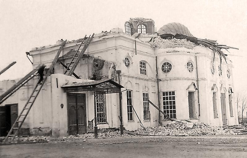Разрушение Благовещенского собора_1