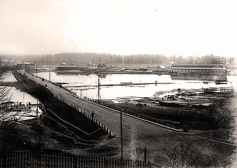 Мост через Ягорбу (вид с Соборной горки)
